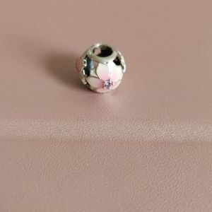 Pandora Jewelry - PANDORA openwork pink magnolia flower charm
